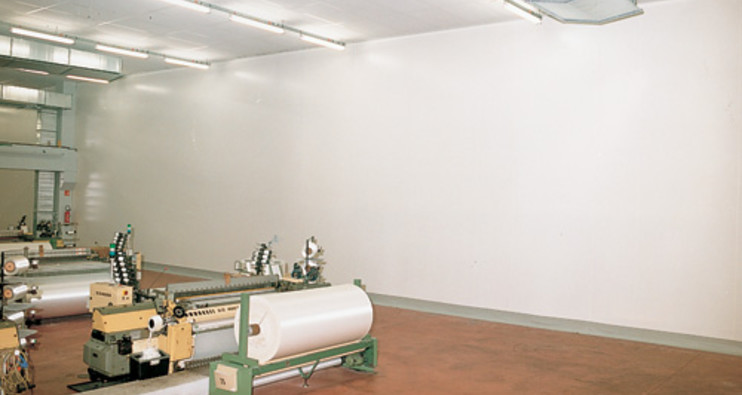 Industrial Partition Walls