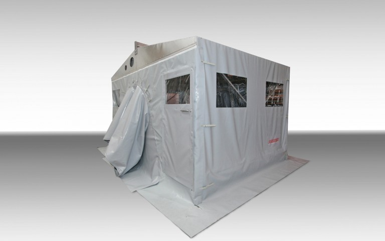 Customized pipeline tents