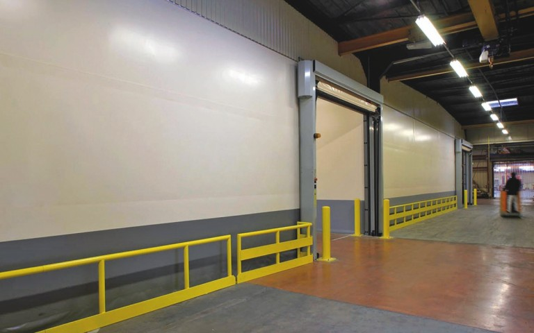 Industrial partitions with noise control
